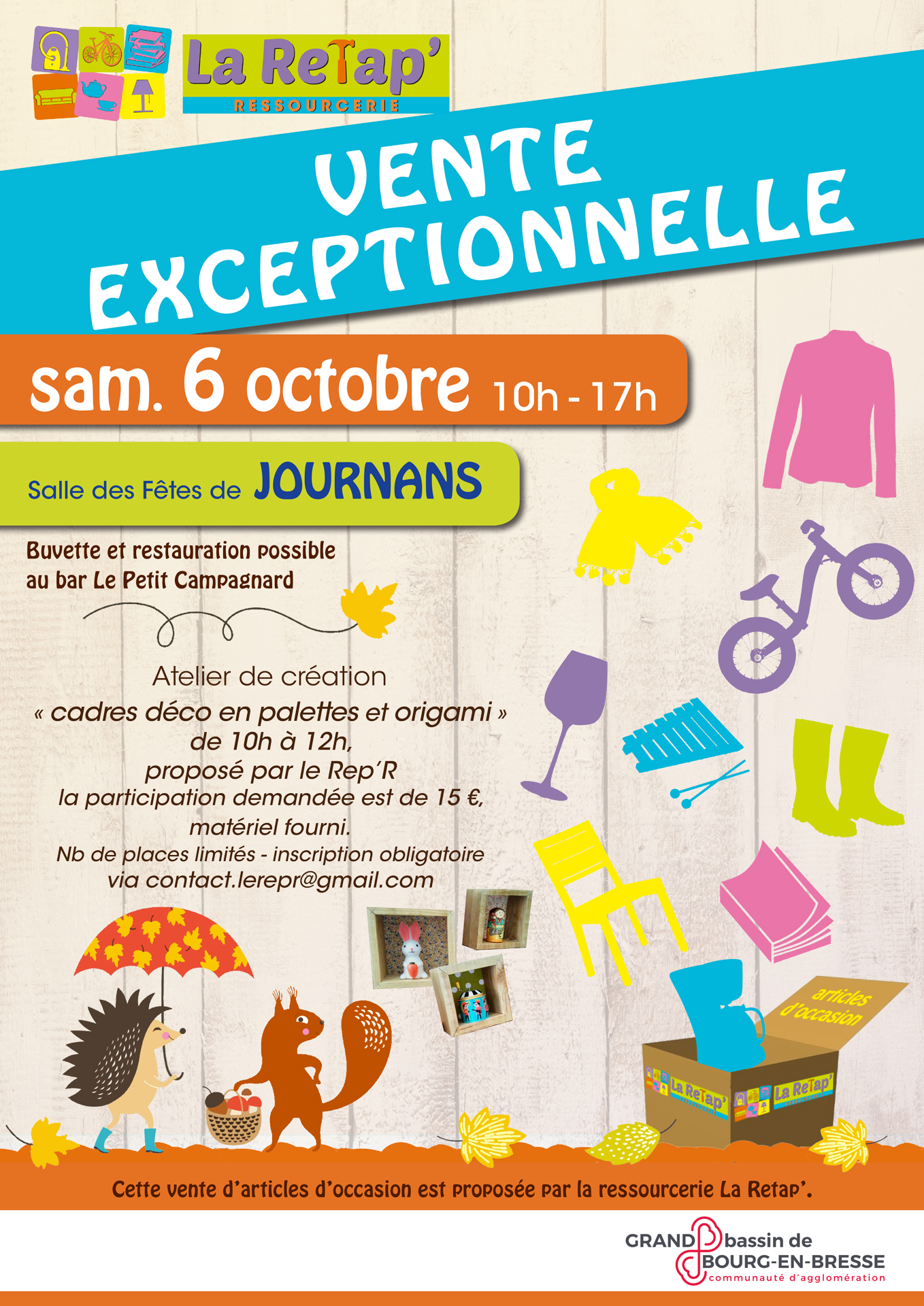 Vente exceptionnelle à Pont-de-Veyle